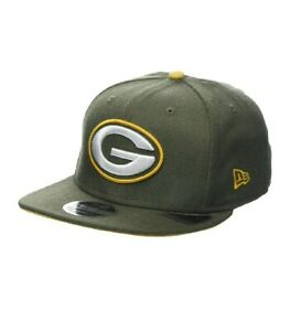 wholesale dealer b5230 5a7bd Image is loading New-ERA-9fifty-Green-Bay-Packers-Snapback-Small-