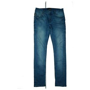 Zara Man Herren Jeans Hose super stretch Slim Skinny W31 L32 used Blau weich TOP