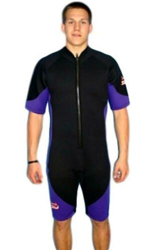 Closeout Priced Large//XL Shorty Wetsuit Front Zip Style Men/'s 8809