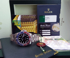 "ROLEX - 2016 GMT Master II 18kt White Gold RED Blue ""PEPSI"" 116719 - SANT BLANC"