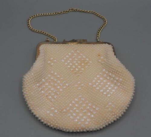 Clutch Perlen Abend Handtasche Mini Vintage 0WAz1qYgn