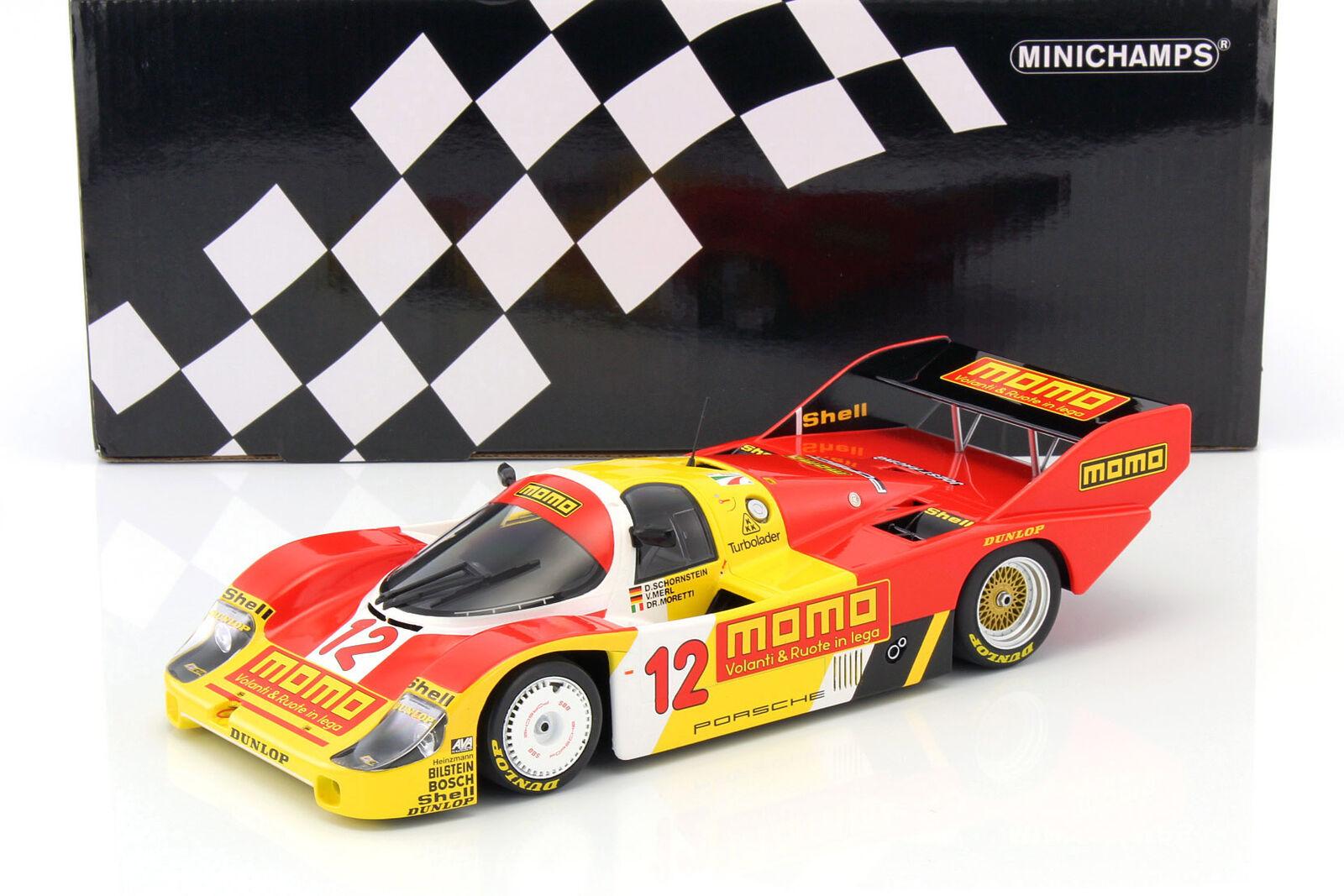 Porsche 956K  12 1000km Mugello 1983 Merl , Moretti, Cheminée 1 18 Minichamps