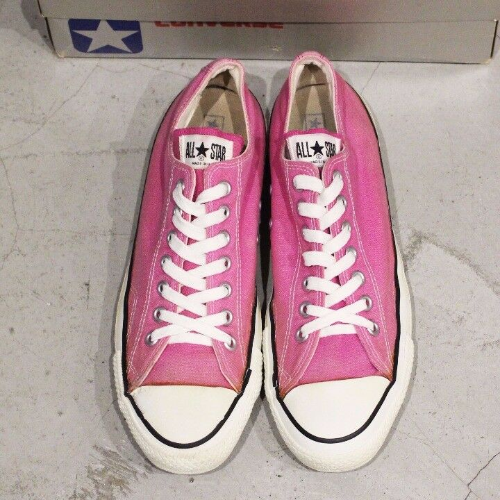 Vintage 80s USA made Converse All Star Men's Sneaker From JAPAN F/S