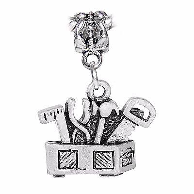 Aspiring Werkzeugbox Werkzeug Contractor Hammer Säge Hängende Charms Für Europäisches Reliable Performance Jewelry & Watches