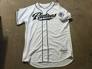 San Diego Padres Team Issued Blank Home White Jersey B