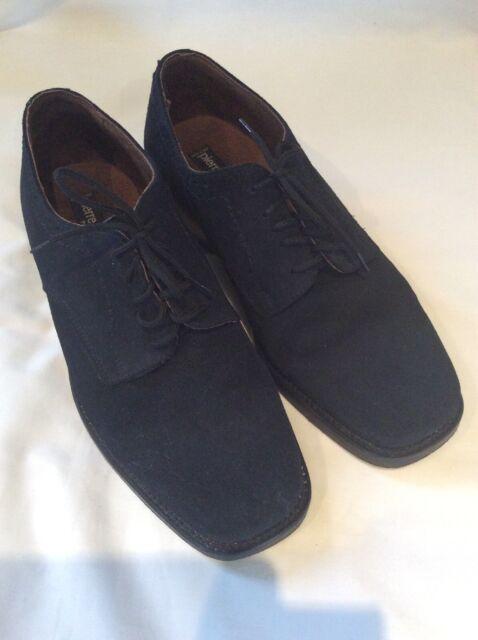 unschlagbarer Preis vollständig in den Spezifikationen große Auswahl Mens PIERRE CARDIN Navy Blue SUEDE Shoes SIZE 7.5 Size 41