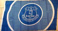 Everton Official Bullseye Flag - Blue & White - Great Gift Idea