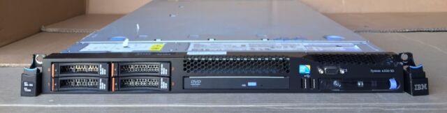 IBM X3550 M3with 2x L5630 2.53GHZ 16GB 4x 73 GB 10K SAS HDD's/Raid controller