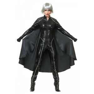 Image is loading Storm-Costume-Adult-Female-Superhero-xMen-Halloween-Fancy-  sc 1 st  eBay & Storm Costume Adult Female Superhero xMen Halloween Fancy Dress | eBay