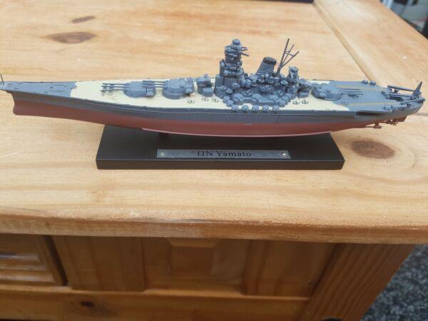 Atlas Edition Diecast Scale Ijn Yamato No Box 1.250