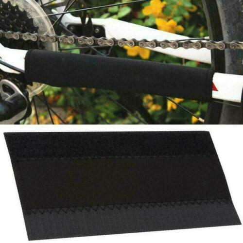 2x Cycling Bike Bicycle Frame Chain Stay Protector Pad Guard Wrap Nylon B4S4