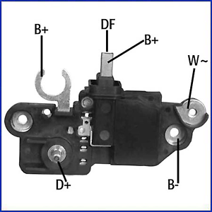 Generatorregler Hüco Hüco 130580