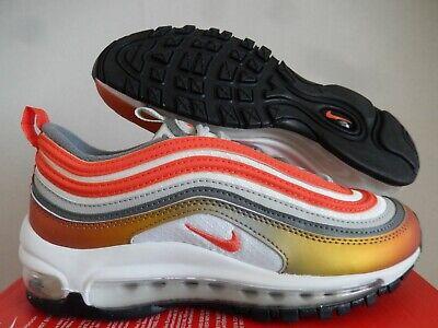 Nike AIR MAX 97 se (GS) si è riunito Bronzo ROSSO-ARANCIO Sz 4.5Y - Da Donna Sz 6 [CT9637-900] | eBay