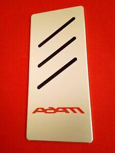 Repose Pied Opel Adam Edition Tuning Nouveau Aluminium Inlay Noir/rouge-afficher Le Titre D'origine