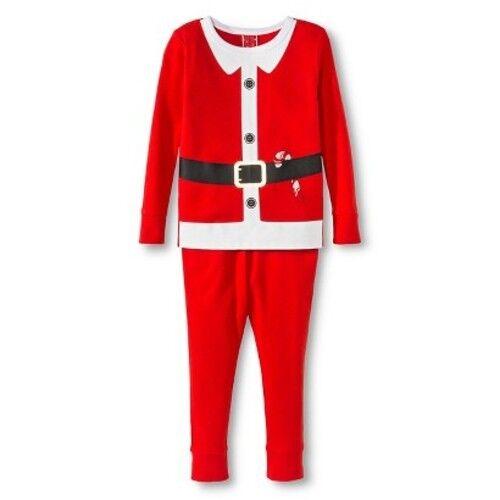 size 4 target boysgirls child santa suit christmas holiday pajama set pjs ebay - Target Christmas Pjs