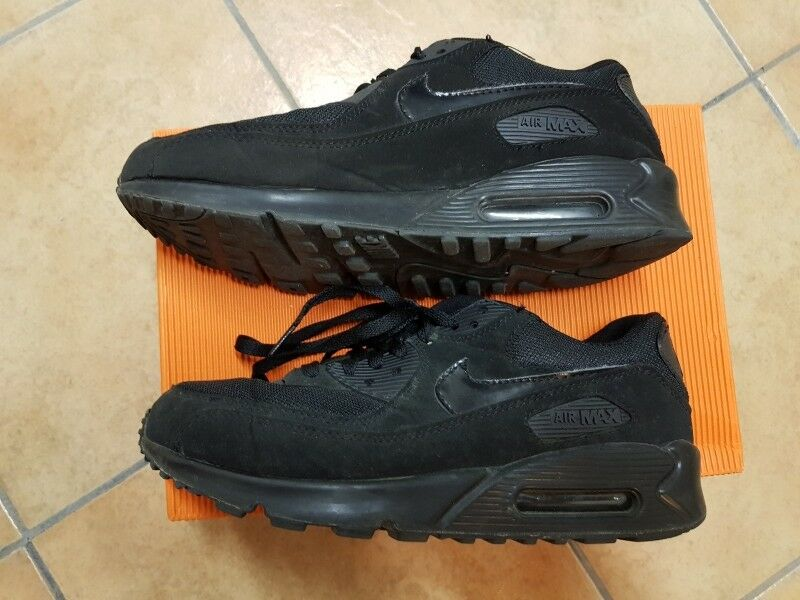Nike AIR MAX 90 schwarz Gr.10 Gr.44