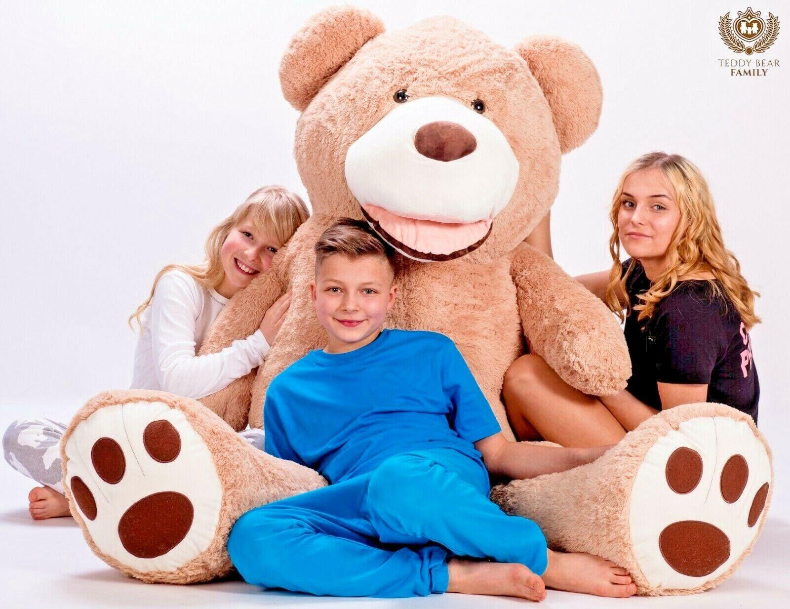 Teddybär XXL 240cm Riesen Stofftier Plüschtier Groß XXL XXL XXL Teddy Bär Geschenke idee 432c04
