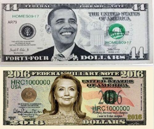 Obama  44th President Bill & Hillary Clinton 2016 Bill (History Makers)