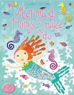 Mermaid Things to Make and Do (Usborne Activities), Leonie Pratt, Good Book