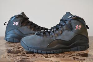 Air Jordan 10 Collezione Countdown Half Pack CDP  Shadow  318539 991 Size 10.5