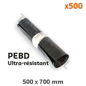 Petit Sac Poubelle Haute Résistance 30l Pebd 40µ (x500) (par 500) Avoir Un Style National Unique