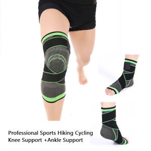 c328c4db4e Image is loading 3D-Weaving-Pressurization-Hiking-Brace-Sports-Cycling-Knee-