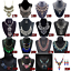 Fashion-Crystal-Pendant-Bib-Choker-Chain-Statement-Necklace-Earrings-Jewelry thumbnail 4