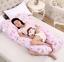 Comfortable Maternity U Pillow Full Pregnancy Comfort Body Support+Free Case UK