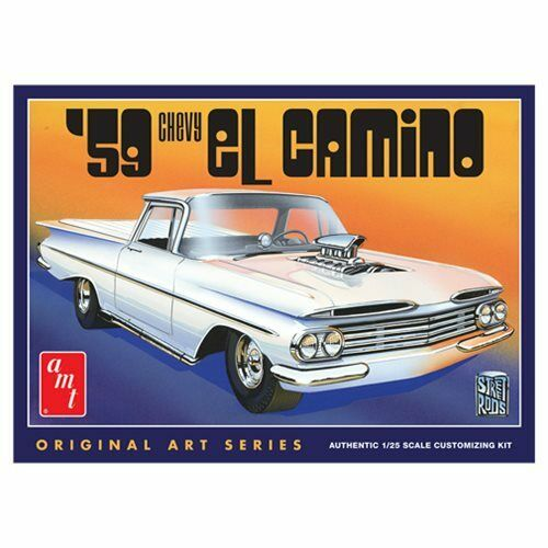 1959 Chevy El Camino 1 25 Scale Model Kit