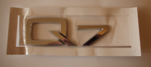 BMW X6 Heckklappe Hinten Schriftzug Zeichen Emblem Chrom