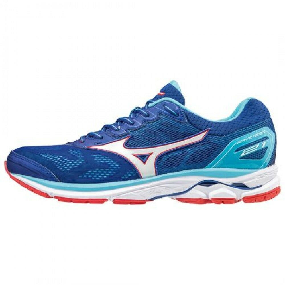 Mizuno Running shoes WAVE WAVE WAVE RIDER 21 J1GC1803 Blue × White × Red F/S 6dddf4