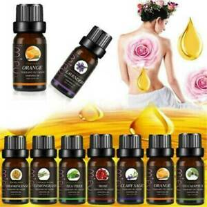 Essential-Oils-100-Natural-Pure-Aromatherapy-Essential-Oil-10ml-Fragrance-Aroma