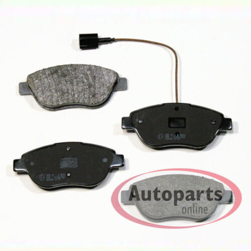Bremsscheiben Bremsen Bremsbeläge Warnkabel für vorne Peugeot Bipper