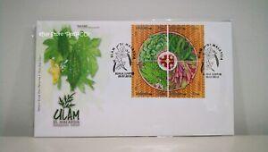 MALAYSIA-Malaysian-Salad-2013-Stamp-FDC
