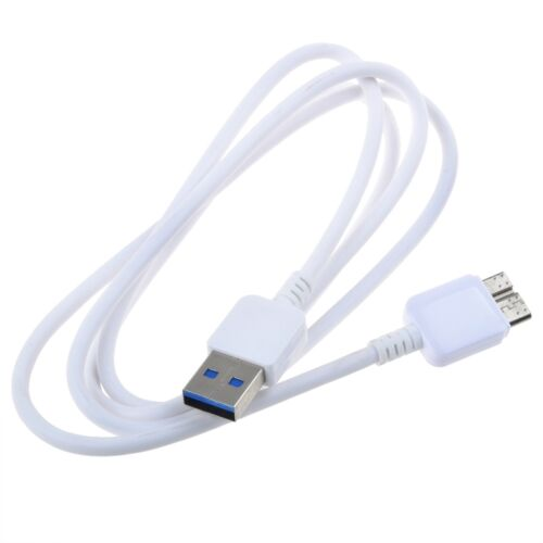 White USB 3.0 Cable for Seagate SRD0SD1 SRDOSD1 PN 1DXAP4-500 4 TB Backup Plus