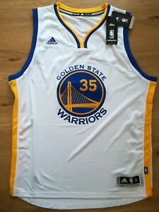 timeless design 6c4d7 2e74b Details about Adidas Golden State Warriors Swingman Jersey Kevin Durant in  size XL