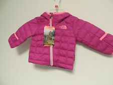 North Face Infant girl THERMOBALL hoodie 3-6 mths luminous pink NWT