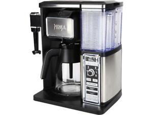 Ninja-CF090-Coffee-Bar-Glass-Carafe-System-Black-Silver-Certified-Refurbished