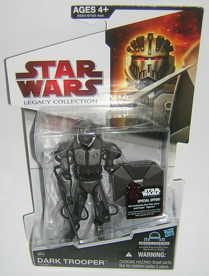 Star Wars Legacy Collection BD56 Dark Trooper Phase 1 RARE