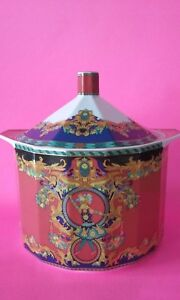 Versace-Vintage-90-Collector-Sun-King-Le-Roi-Soleil-Gorgeous-Large-Tureen-amp-Lid