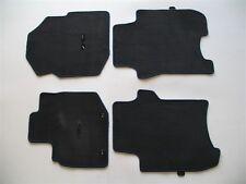 2010 HONDA FIT BLACK CARPET FLOOR MATS RUGS OEM GENUINE USED SET 09 10 11 12 13