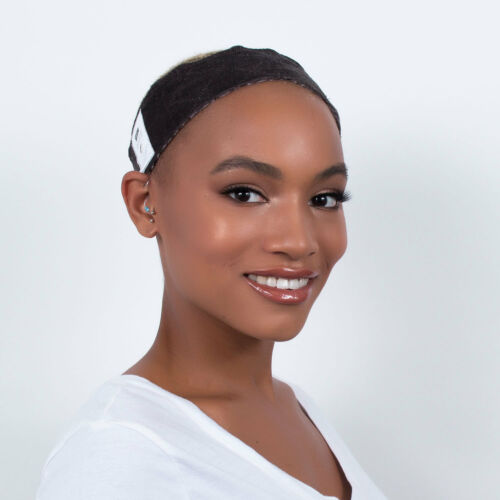 Brown Milano Collection WiGrip Extra Hold Wig Comfort Band Reduces Headaches