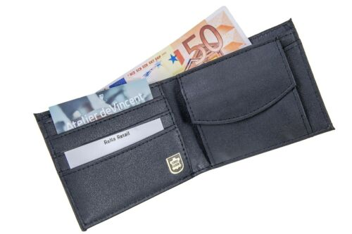 PORTEMONNAIE GELDBEUTEL SCHUTZ BLOCKER DATENDIEB VISA RFID NFC GELDBÖRSE LEDER