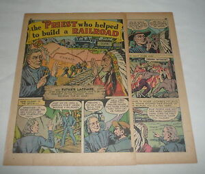 1942-two-and-a-half-page-cartoon-story-FATHER-ALBERT-LANCOMBE