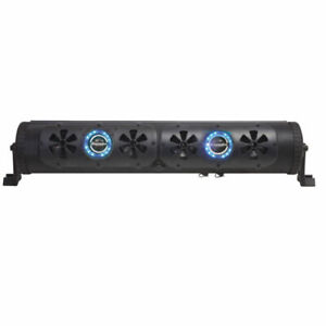 Bazooka BPB24-G2 24in. Bluetooth G2 Party Bar with LED Illumination System - Black