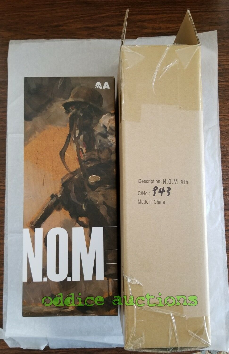 3A WWR 1 6 4 ANNIVERSARY NOM the 4TH ThreeA Ashley Wood Four 12  3AA Exclusive