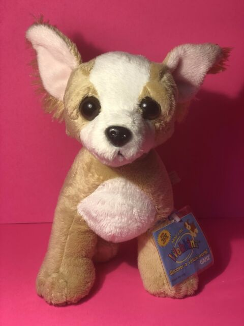 Ganz Webkinz Hm104 Chihuahua Plush Stuffed Animal With Code Ebay