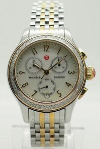 MICHELE-MW23A01C5025-Two-Tone-Jetway-0-40ctw-Diamond-Chrono-Date-Mop-36mm-Watch
