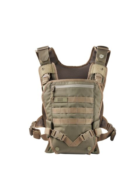 Men S Baby Carrier Front For Dads By Mission Critical Coyote