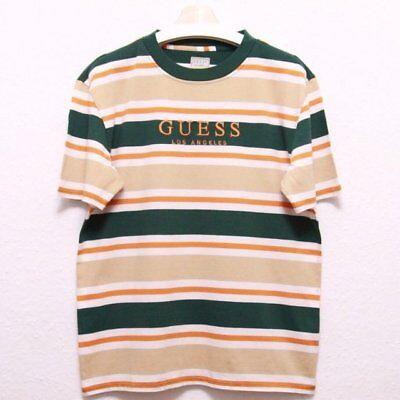 Guess Multi impressionante a Righe Oversize T shirt | eBay